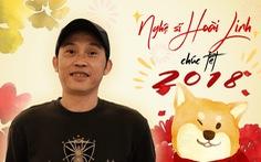 Nghệ sĩ Hoài Linh chúc Tết độc giả Tuổi Trẻ Online