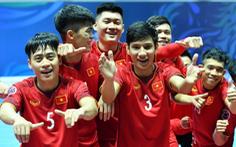Tiếp sóng trận Futsal tứ kết Châu Á Việt Nam - Uzbekistan