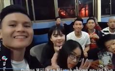 Xem video clip cầu thủ U23 VN vui với 'tăng tăng tằng tằng'