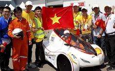 Việt Nam lần thứ tư vô địch đua xe tiết kiệm nhiên liệu châu Á
