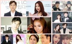 Hạnh phúc dù lệch tuổi của những cặp đôi nổi tiếng xứ Hàn