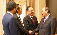 Thủ tướng Nguyễn Xuân Phúc gặp Việt kiều tiêu biểu ở Úc