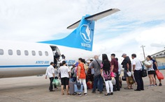 Máy bay lỗi kỹ thuật, 114 khách 'mắc kẹt' ở Côn Đảo