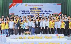 CĐ Đại Việt Sài Gòn: Đảm bảo sinh viên ra trường có việc làm