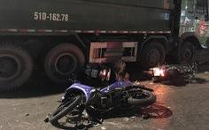 Một nạn nhân vụ xe ben cuốn hàng loạt người đã tử vong