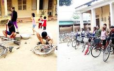 Ai có xe đạp cũ tặng học sinh miền núi?