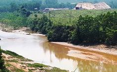 Vỡ đập thải nhà máy vàng: Công ty nói nước tràn là nước mưa!