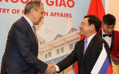 Ngoại trưởng Lavrov: Quan hệ chính trị Việt - Nga có độ tin cậy cao