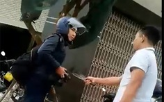 Dùng dao dọa chém phóng viên là 'đe dọa giết người'