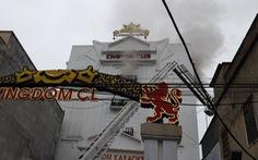 Cháy karaoke Kingdom sáu tầng ở Hà Tĩnh