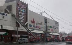 Cháy trung tâm thương mại ở Nga: vẫn còn 41 trẻ em bị mất tích