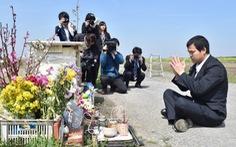Cha bé Nhật Linh quay lại nơi con gái bị sát hại