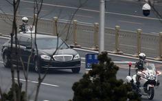 Những hình ảnh tạo nghi vấn ông Kim Jong Un thăm Bắc Kinh