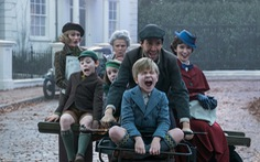 Disney tung trailer phim 'khủng': Mary Poppins returns