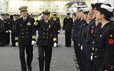 Nhật có nữ chỉ huy hải đoàn tàu chiến đầu tiên