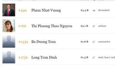 Việt Nam có thêm hai tỉ phú đôla
