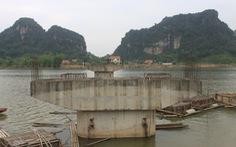 Cầu xây 7 năm vẫn dang dở, 'trùm mền' vì thiếu vốn