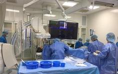 Bệnh nhân bị nhồi máu cơ tim, phù phổi cấp thoát nguy kịch