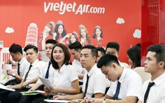 Vietjet Air tuyển tiếp viên trong tháng 4
