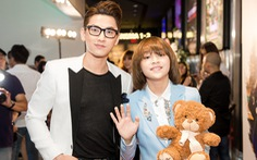 Isaac đến ra mắt MV của học trò Thiên Khôi