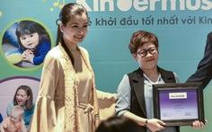 Ca sĩ Triệu Yên là giảng viên đầu tiên của Kindermusik tại Việt Nam