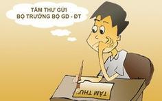 'Tâm thư' một giáo viên nghỉ hưu gởi Bộ trưởng Bộ GDĐT