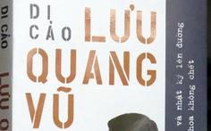 Trao học bổng Sơn Nam và xuất bản Di cảo Lưu Quang Vũ