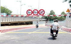 Đường chui cầu Bình Triệu chính thức thông xe