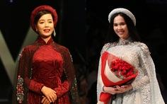 Chiều Xuân là hoàng hậu, Ngọc Trinh là công chúa diễn thời trang