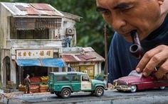 Đi ngược thời gian bằng mô hình siêu nhỏ của nghệ nhân Malaysia
