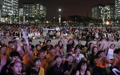 Đêm nhạc tưng bừng của hội sinh viên kiến trúc toàn quốc