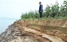 Cát tặc quần thảo sông Lam, đất của dân sạt lở từng ngày