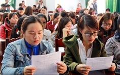 Đắk Lắk vẫn chưa có phương án giải quyết 500 giáo viên dôi dư