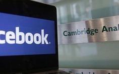 Facebook nhận nộp phạt hơn nửa triệu đôla Mỹ vì vụ Cambidge Analytica