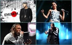 Ngai vàng ở khu ổ chuột với Drake, Cardi, Eminem, Kendrick Lamar