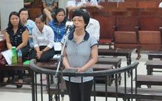 Xử phúc thẩm cựu đại biểu quốc hội Châu Thị Thu Nga lừa đảo
