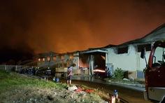Cháy Khu công nghiệp Long Giang, thiệt hại 300 tỉ