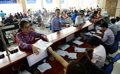 Ngành thuế làm việc xuyên Tết