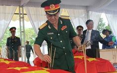 Truy điệu 21 hài cốt liệt sĩ Việt Nam hi sinh tại Lào