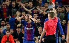 Hậu vệ Sergi Roberto bị treo giò 4 trận