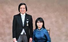 Giáo sư Trần Văn Thọ nhận Huân chương Thụy Bảo Tia Vàng của Nhật