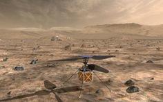 Chờ trực thăng của NASA cất cánh từ sao Hỏa