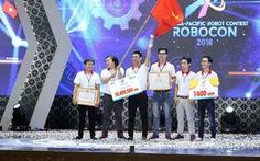Đội LH-ATM vô địch Robocon Việt Nam 2018