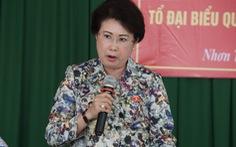 Cho bà Phan Thị Mỹ Thanh thôi nhiệm vụ đại biểu Quốc hội
