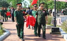 Đưa 98 hài cốt liệt sĩ Việt Nam hi sinh ở Lào về đất mẹ an táng