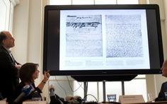 Tìm thấy 2 trang bị giấu đi của Nhật ký Anne Frank