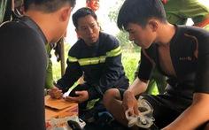 Lật sà lan cát trên sông Đồng Nai giữa khuya, 3 người mất tích