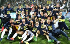 Ba mùa thăng ba hạng, Parma trở lại Serie A