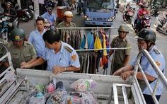 Phường trung tâm Sài Gòn dẹp vỉa hè sau thời gian im ắng