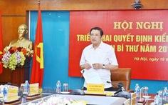 Triển khai quyết định kiểm tra Ban cán sự đảng Bộ Thông tin và truyền thông
